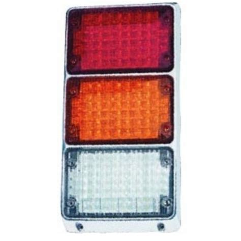 weldon led tail lights 4 quot x 6 quot led stop turn tail reverse lighting emergency