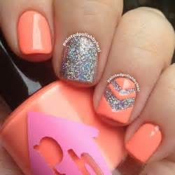 Nail art ideas as possible for summer but without causing lasting