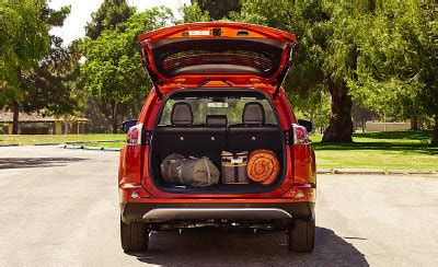 Rav 4 Length by How Much Space Is In The 2016 Toyota Rav4