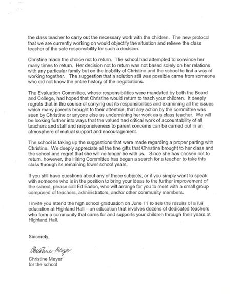 waldorf awareness letters from highland leonard abuse