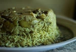 Kitchen of Palestine Maqluba With Eggplant and Lamb