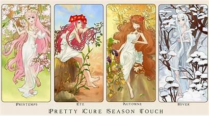 Cure Pretty Season Touch Series Fan Precure