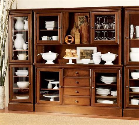 wall units pottery  buffet  pinterest