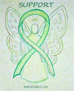 non-Hodgkin Lymphoma Cancer Ribbon