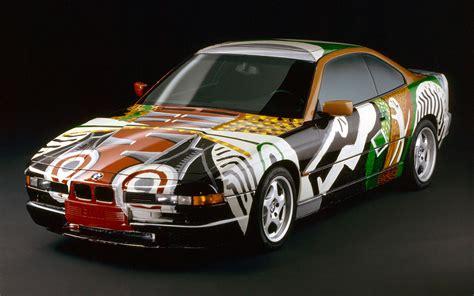 bmw  csi coupe art car  david hockney