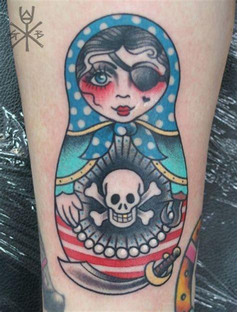 cool matryoshka tattoos