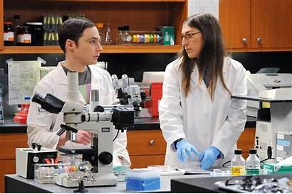 Amy Bang Theory Sheldon Science Cast Bialik
