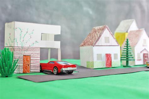 design  kids paper houses babble dabble