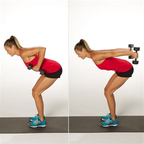 Standing Kickbacks Exercise by Triceps Kickback Sculpt And Strengthen Your Arms With