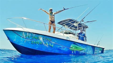fishing boat offshore florida wrap sick bait mahi ft kingfish snapper
