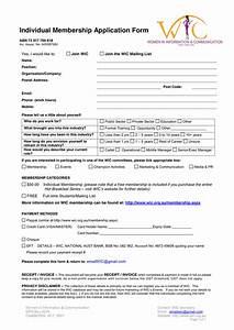 membership form sample idealvistalistco With membership form template doc