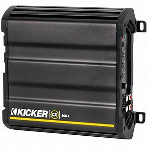 Kicker Cx600 1 600 Watt Rms Single