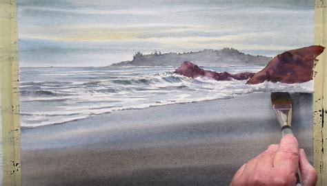 dipingere  lacquerello la spiaggia il mare le
