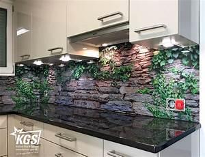 Wand Glas Küche : k chenr ckwand aus glas mit digitaldruck glasr ckwand k che pinterest k chenr ckwand aus ~ Sanjose-hotels-ca.com Haus und Dekorationen