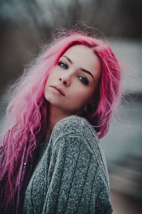 25 Best Ideas About Hot Pink Hair On Pinterest Bright