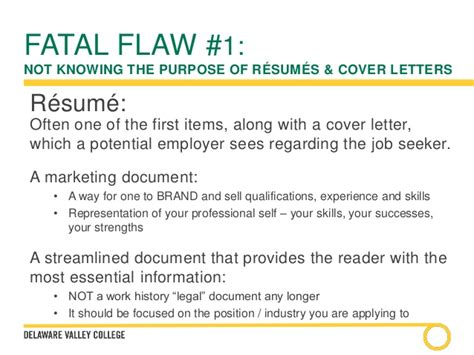 cover letters and resumes a comprehensive overview