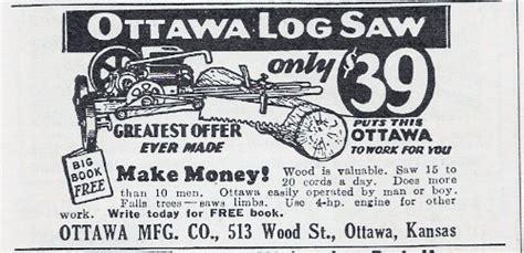 ottawa manufacturing   ad ottawa log