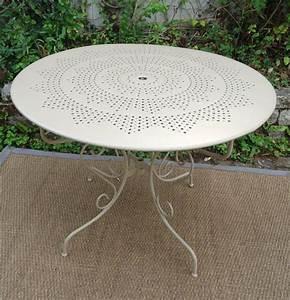 Table Jardin Fer Forgé : table jardin fer ~ Dailycaller-alerts.com Idées de Décoration