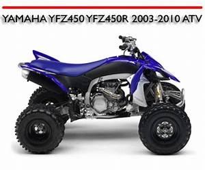 Yamaha Yfz450 Yfz450r 2003