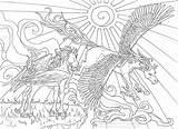 Licornes Impressionnant Licorice sketch template