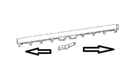 tringle a rideau 3m50 tringle chemin de fer 3m50 224 3m74 plumetis s a r l