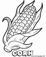 Coloring Corn Pages Printable Cob Vegetable Print Sheet Vegetables Topcoloringpages Info Template Sketch Popular sketch template