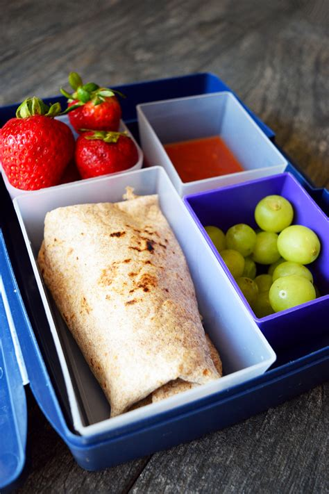 lunch box burritos recipe the gracious pantry healthy lunch ideas