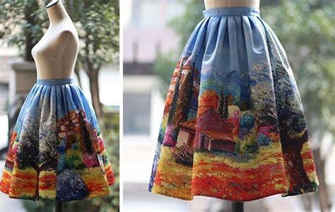 incredible skirts    bring fine art
