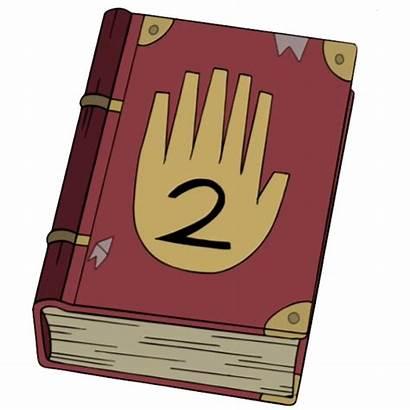 Gravity Falls Diario Journal Dipper Transparent Bill