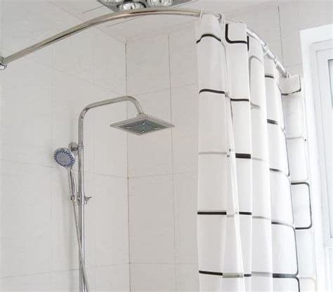 popular curved shower curtain rod buy cheap curved shower