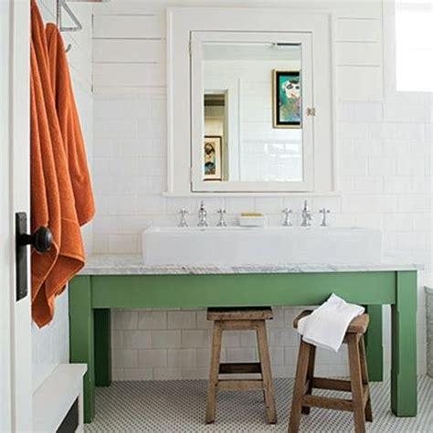 farm sink bathroom vanity green vanity farmhouse vessel sink bathroom renovation