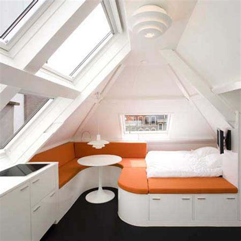 cool room storage bedroom cool small attic bedroom ideas with white and orange bed frame with storage cambination