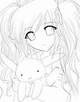 Anime Coloring Sad Pages Characters Printable Getdrawings Getcolorings Template sketch template