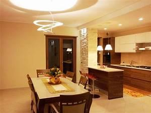 Sala da pranzo Dining Room esempio di illuminazione per una #saladapranzo #Artemide pierce #