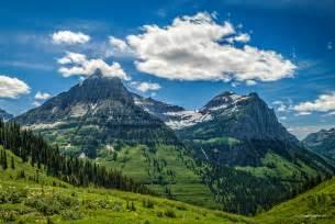 Mountain Glacier National Park Montana