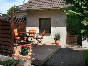 Garagenanbau Mit Terrasse : ferienhaus gartenteich spreewald frau viola minkner ~ Lizthompson.info Haus und Dekorationen