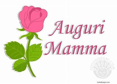 Mamma Auguri Scritta Festa Della Tuttodisegni Rosa