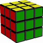 Cube Rubiks Transparent Rubix Icons Arts Clip