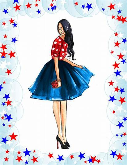 Rong Rongrong Devoe Clipart 4th July Sketches