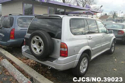 used suzuki xl7 vehicles for sale second hand 2002 left hand suzuki xl7 silver for sale stock no 39023 left hand used cars exporter