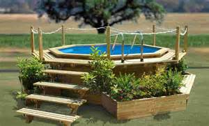do it yourself above the ground pool ladders wood decorations decks for above ground pools