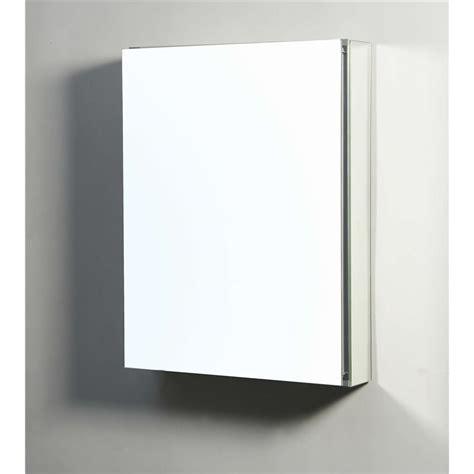 mirror medicine cabinet surface mount confiant 20 quot mirrored medicine cabinet recessed or surface