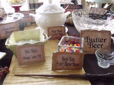 Harry Potter Birthday Party Fairytale In Progress