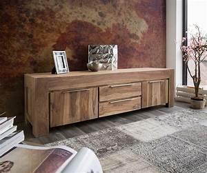 Tv Möbel Massivholz : lowboard blokk 200 cm sheesham natur 2 massiv t ren ausdrucksvolles sheeshamholz pinterest ~ Yasmunasinghe.com Haus und Dekorationen