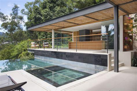 piscine 224 d 233 bordement cuisine d 233 t 233 et vue spectaculaire