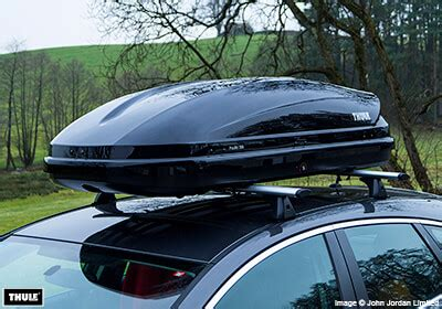 thule pacific 200 thule pacific 200 roof box black glossy no 631204