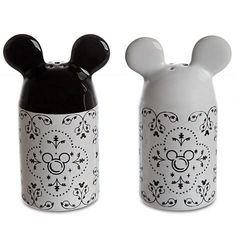 Mickey Mouse Kitchen Essentials Collection by Mickey Mouse Salt And Pepper Set Disney Store