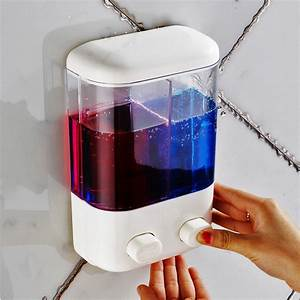 Bathroom Wall Mounted Manual Soap Dispenser Liquid Foam