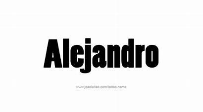 Alejandro Tattoo Designs