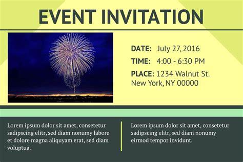 event invitation templates examples lucidpress